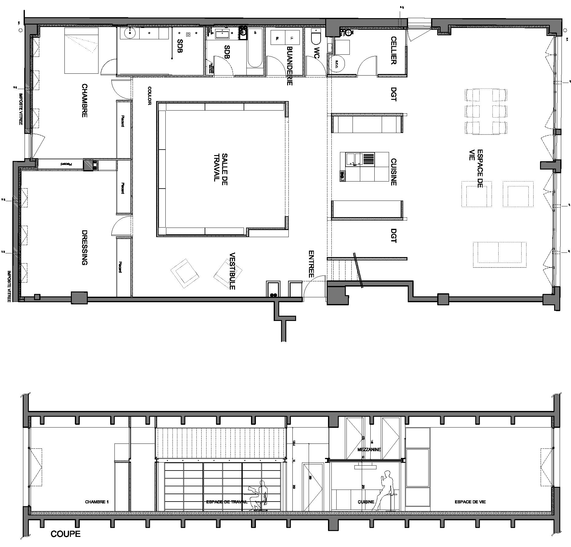 Loftparis xix fendler seemuller architectes for Isoler phoniquement une piece